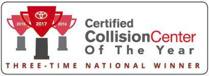Exceptional Weu0027re Proud To Be Named Toyotau0027s 2017 Certified Collision Center Of The  Year. Nearly 190 Toyota Collision Centers Across The Country Are In The  Running For ...
