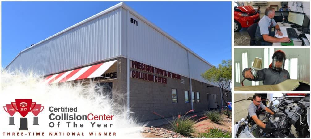 Collision Center Body Shop Precision Toyota Of Tucson