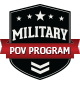Military POV Program Badge