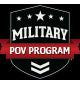 Military POV Program Badge
