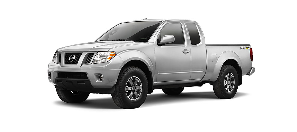 2015 Nissan Frontier white background