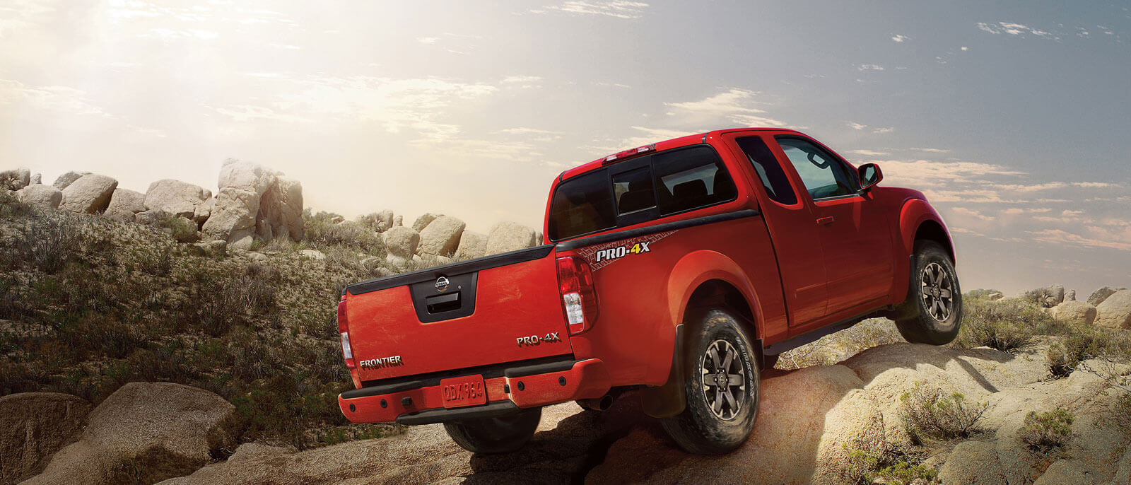 2016 Nissan Frontier rear view