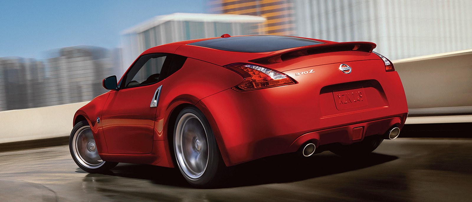 2015 Nissan 370Z back view