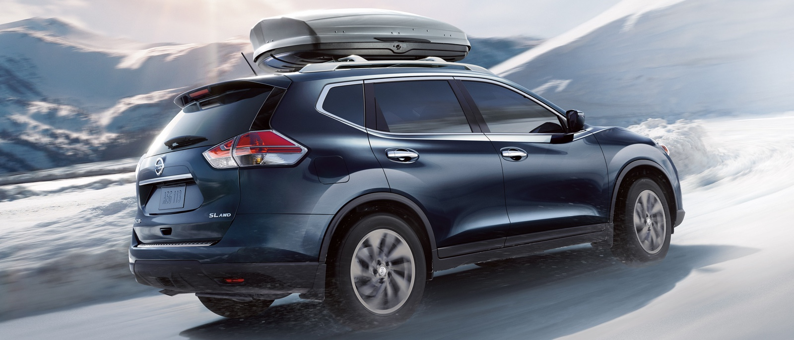 Nissan Rogue in Winter