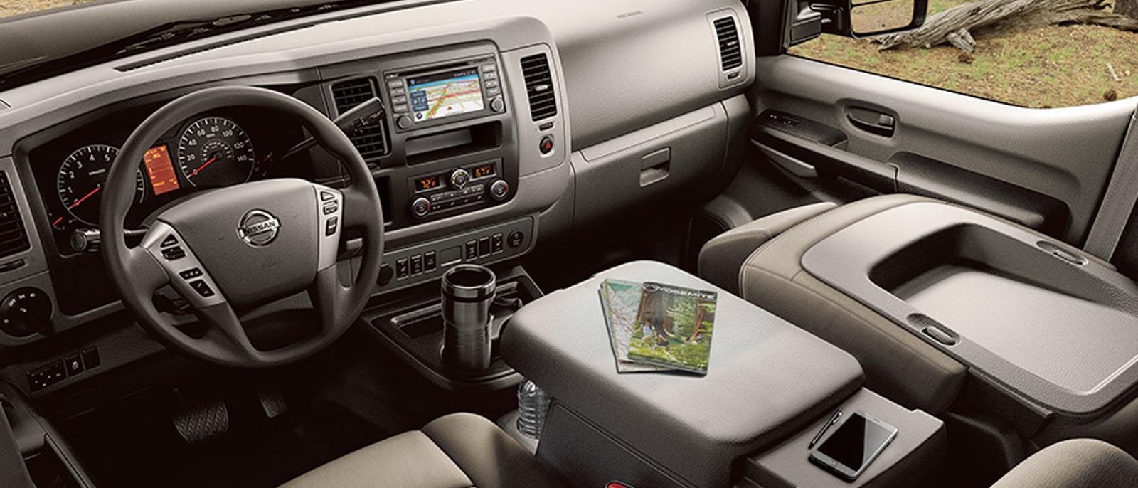 2016 Nissan NV Front Interior