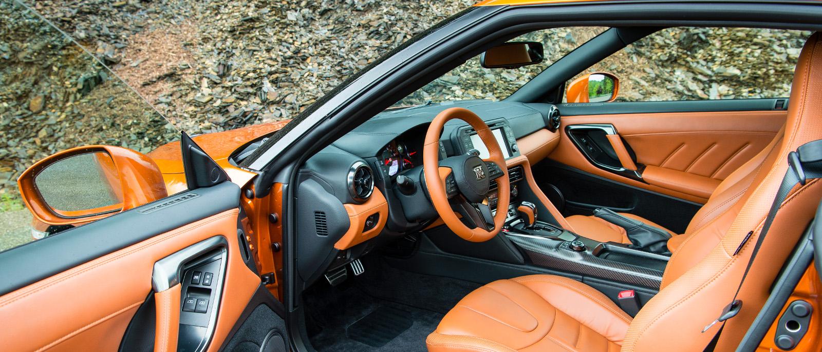 2017 Nissan GT-R Premium Interior