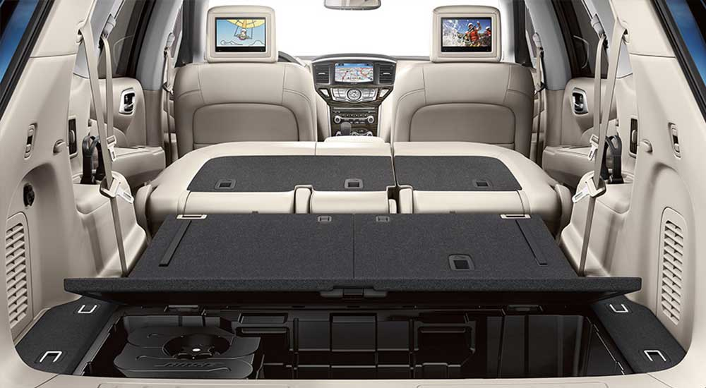 2018 Nissan Armada Platinum >> 2019 Nissan Pathfinder Seating | 3rd Row Seating | Bill ...