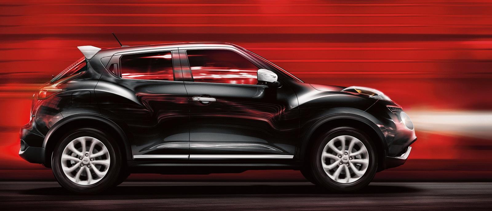 Black Nissan Juke