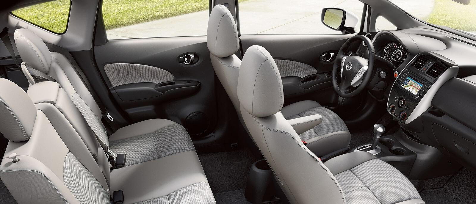 2016 nissan versa note interior seating