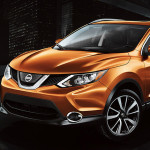 2017 Nissan Rogue Sport monarch orange