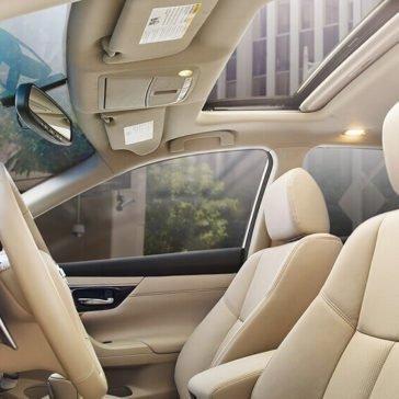 2017 Nissan Altima Beige Leather Interior Gallery 8