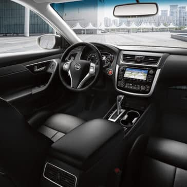 2018 Nissan Altima front seat