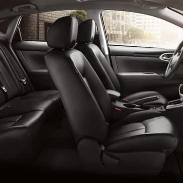 2018 Nissan Sentra rear seat