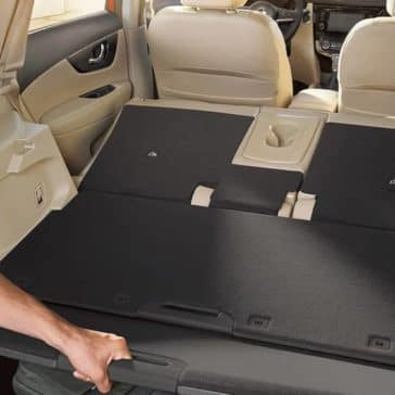 2018 Nissan Rogue cargo space
