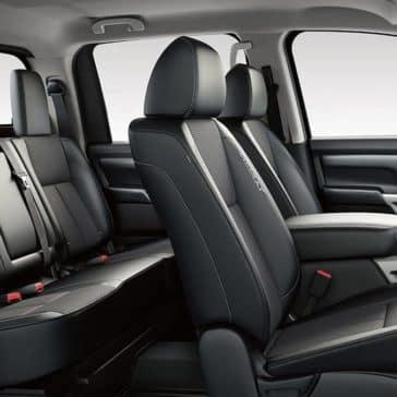 2018 Nissan Titan cloth interior