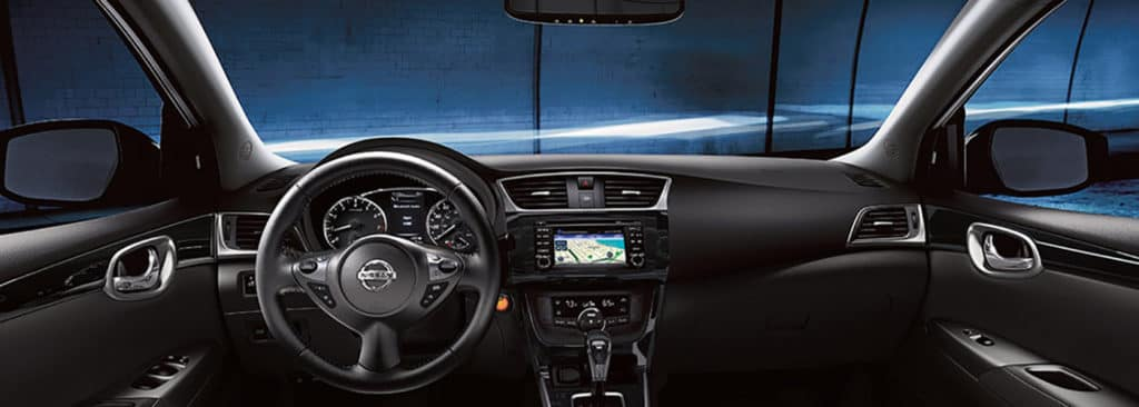 2018 Nissan Sentra Interior Cobalt banner