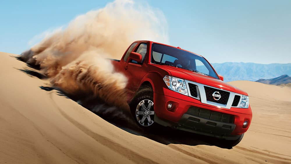 2018 Nissan Frontier off road