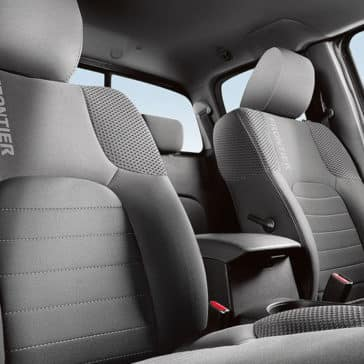 2018 Nissan Frontier cloth interior