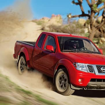 2018 Nissan Frontier in Lava Red