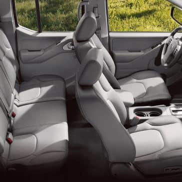 2018 Nissan Frontier rear bench seats