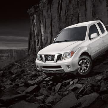 2018 Nissan Frontier in silver