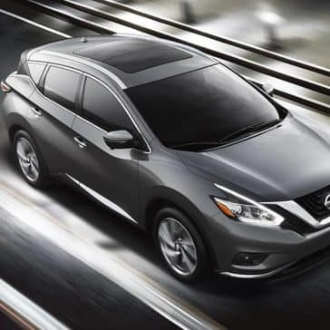 2018 Nissan Murano on the highway