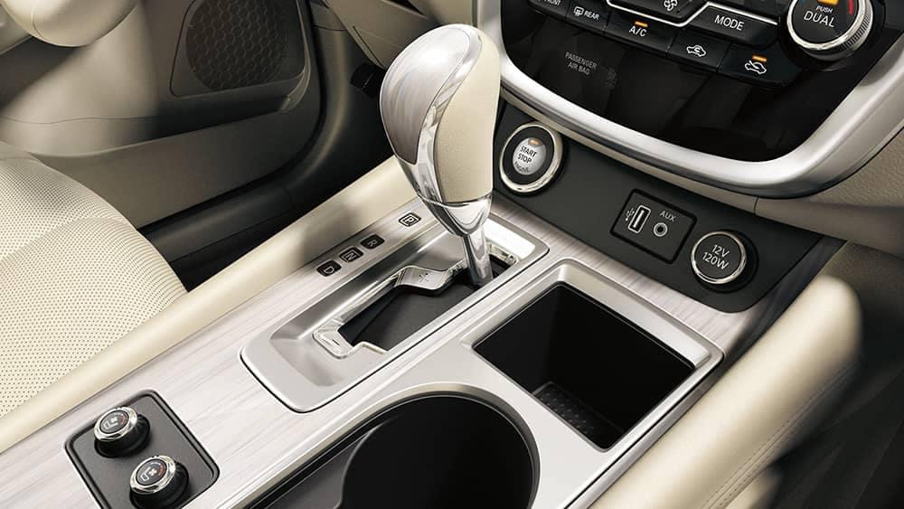 2018 Nissan Murano 2018 Nissan Murano gear shifter