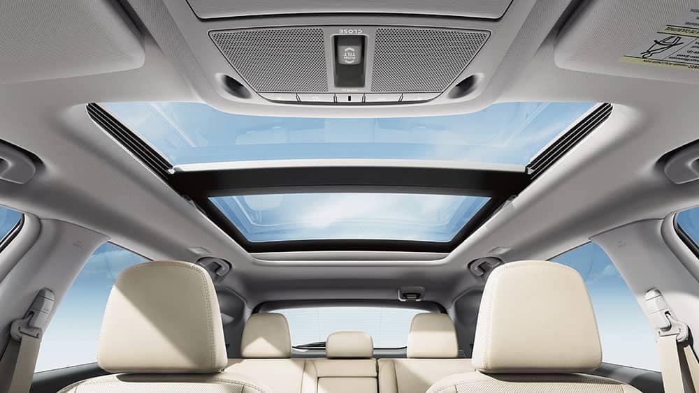 2018 Nissan Murano sun roof