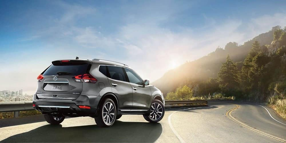 2019 Nissan Rogue on the highway