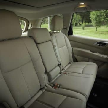 rear seating in 2019 Nissan Pathfinder