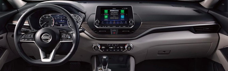 2019 Nissan Altima Interior Cockpit View