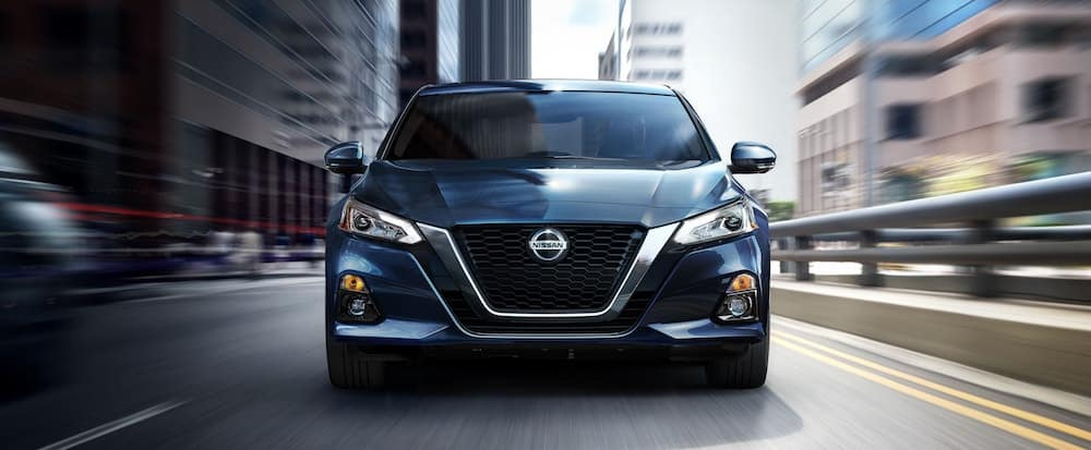 Head on view of a 2020 Nissan Altima