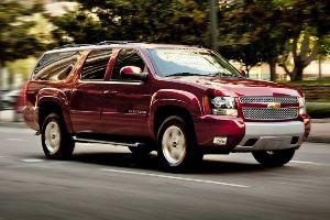 Chevrolet Suburban in Massachusetts