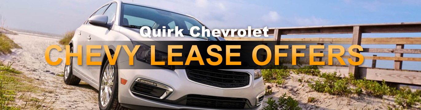 New Chevy Lease Deals & Offers Boston | Quirk Chevy MA