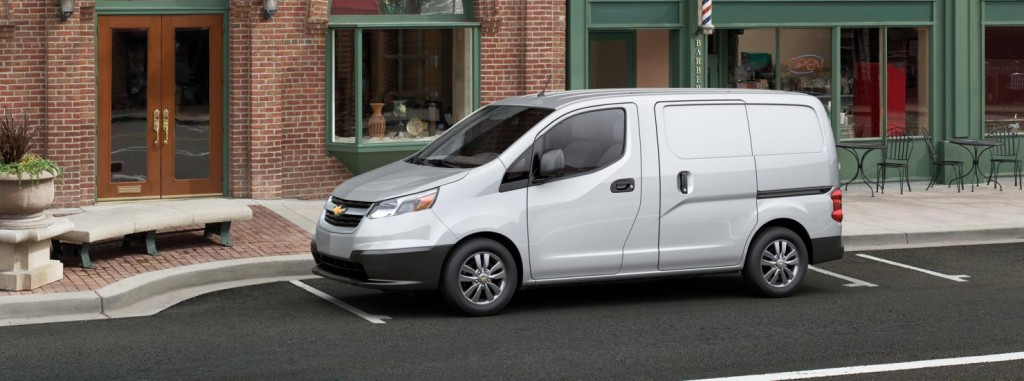 Chevy City Express side view