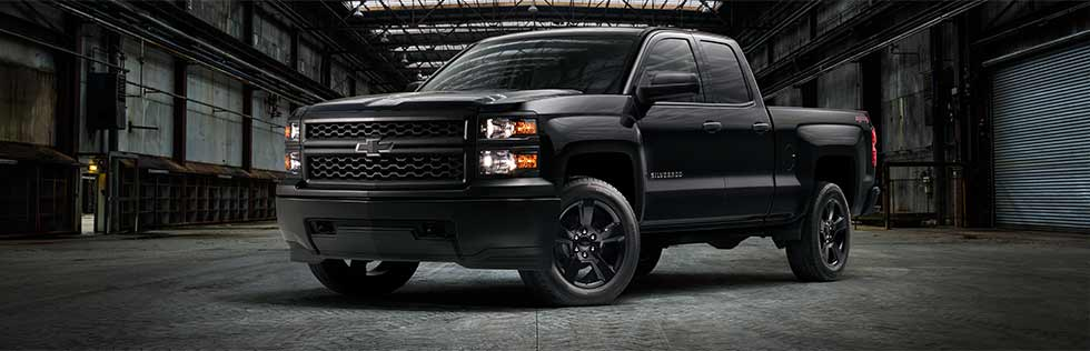 New Chevrolet Silverado Black Out Special Edition at Quirk Chevrolet in Braintree, MA