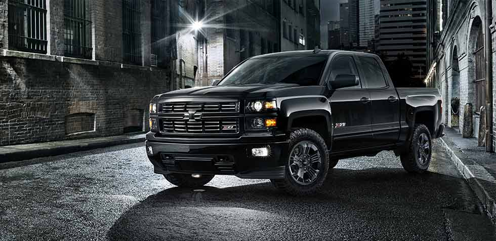 New Chevrolet Silverado Midnight Special Edition at Quirk Chevrolet in Braintree, MA