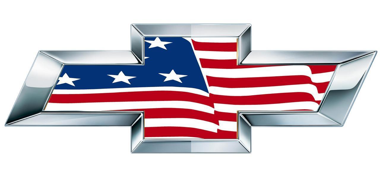 Chevrolet American Flag Logo