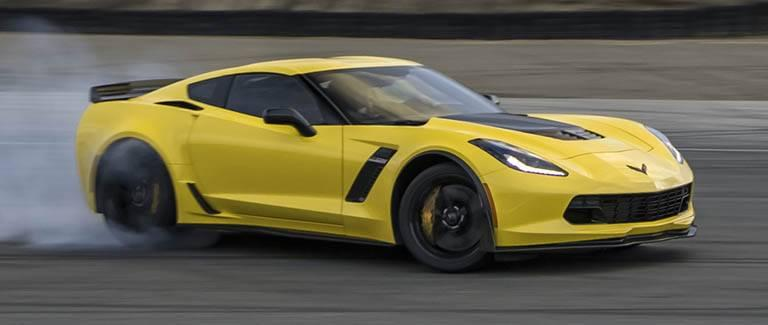 New Chevy Corvette