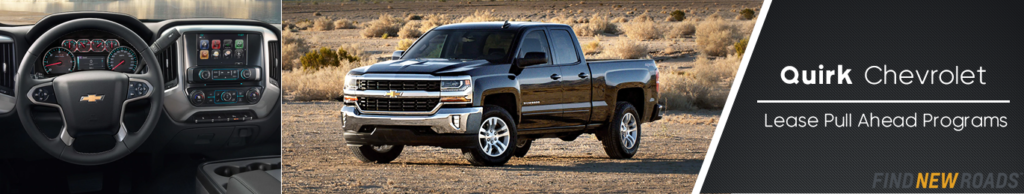 Lease Pull Ahead Program at Quirk Chevrolet