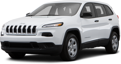 2014 Jeep Cherokee in white