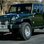 Jeep wrangler truck concept vehicle