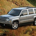 2015 Jeep Patriot in the desert
