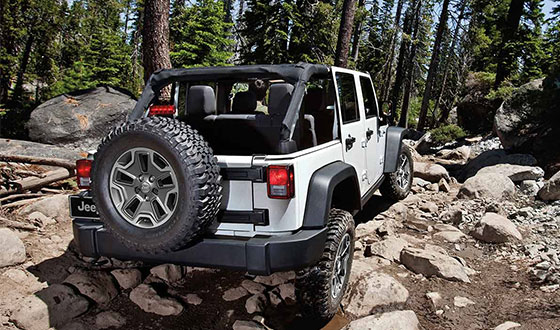 Wrangler Unlimited exterior