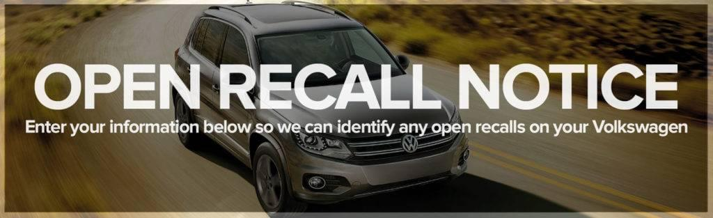 Open Volkswagen Recalls
