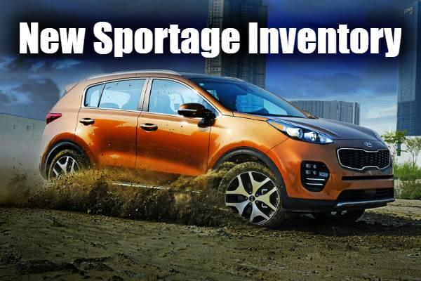 Search Sportage Inventory