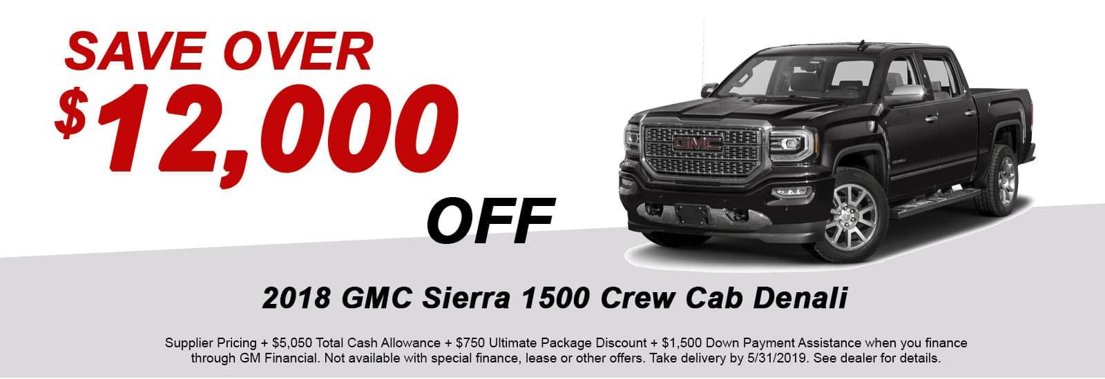 Sierra Crew Cab Denali