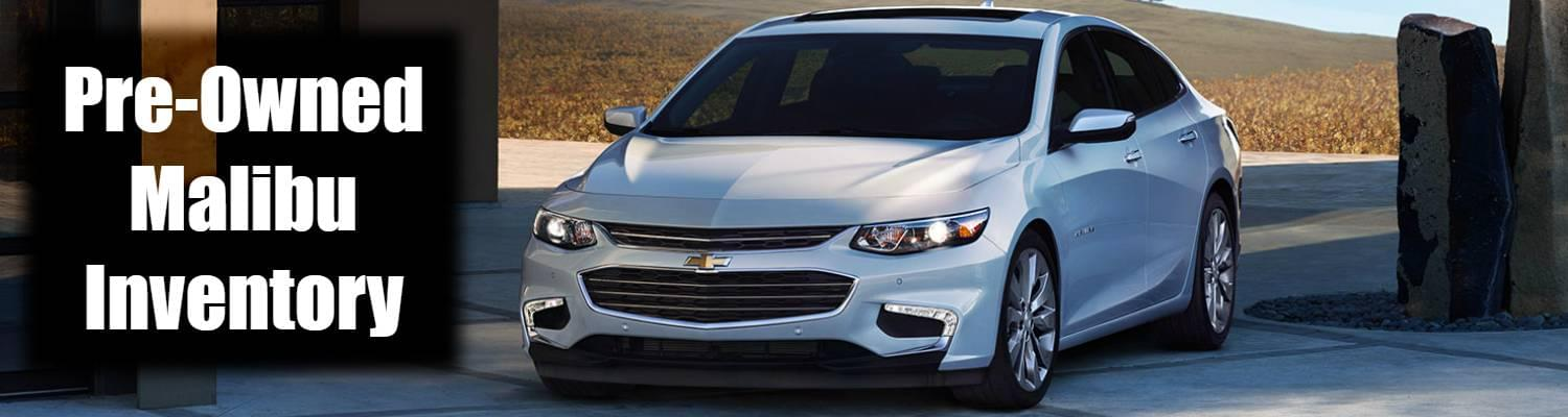 Pre-Owned Malibu Inventory