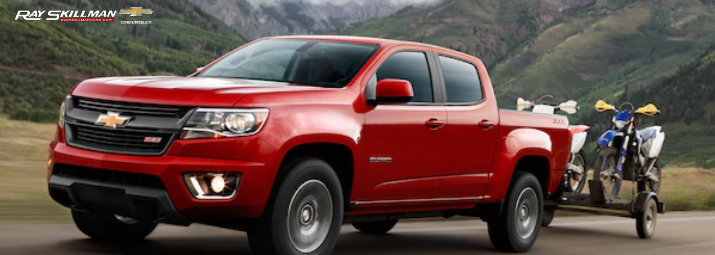 Chevrolet Colorado vs Ford Ranger Indianapolis