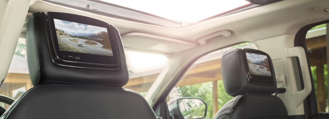 Dual-Headrest Entertainment System